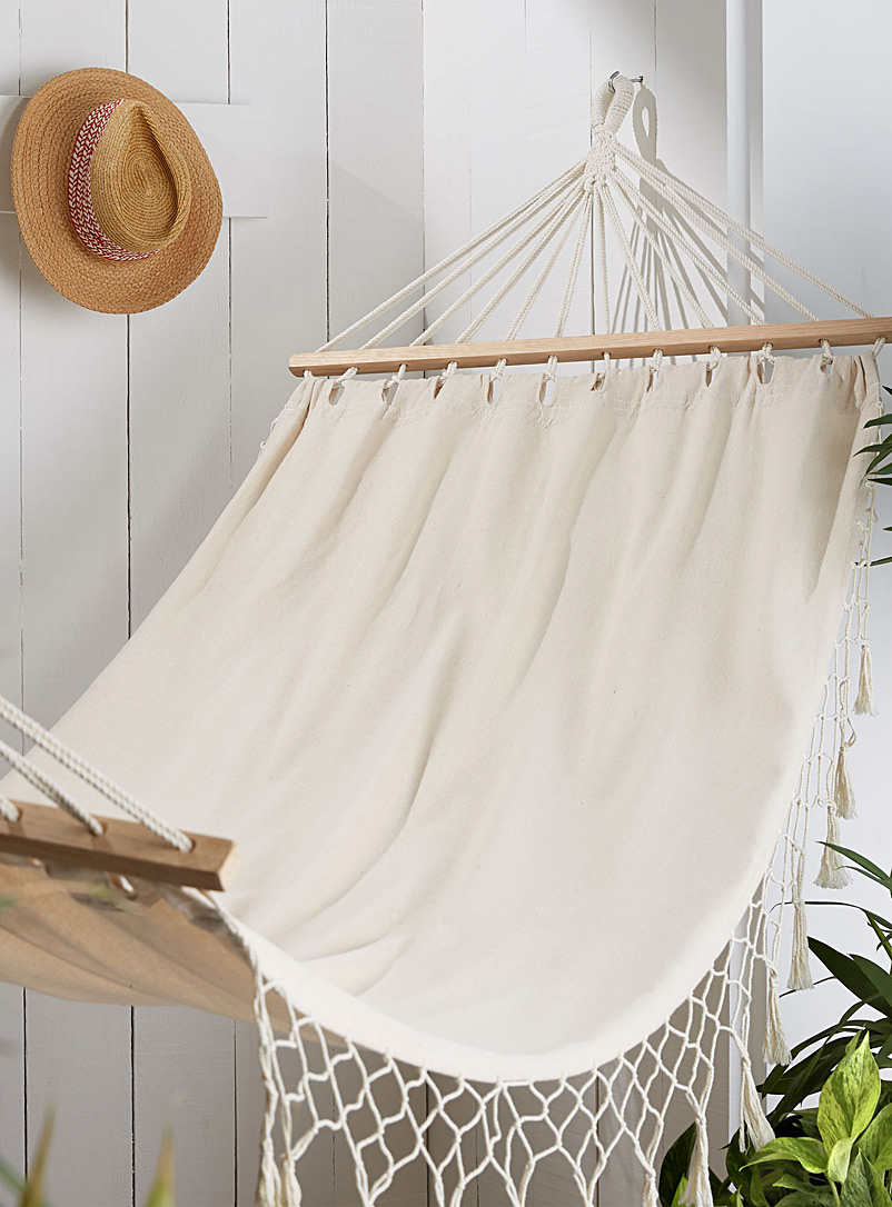 Dreamer hammock - Stylish Objects & Decor Accents - Ecru/Linen