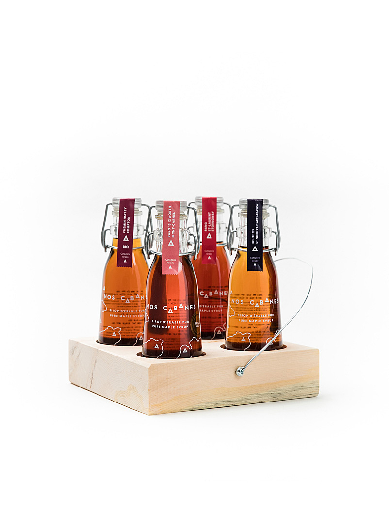Nos Cabanes Amber Bronze Local discovery gift set