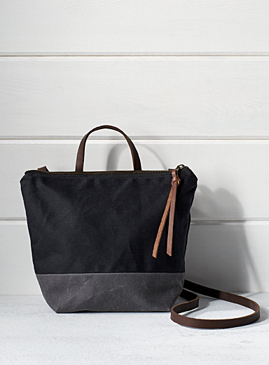 Contrasting block mini bag