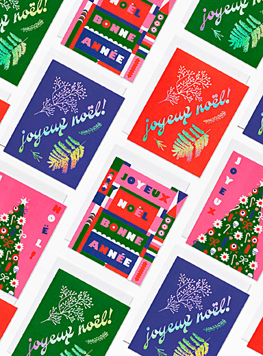 Holiday greeting cards  Set of 5