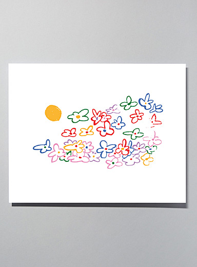 Flowers small poster