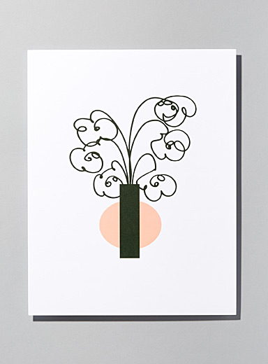 Small vase poster