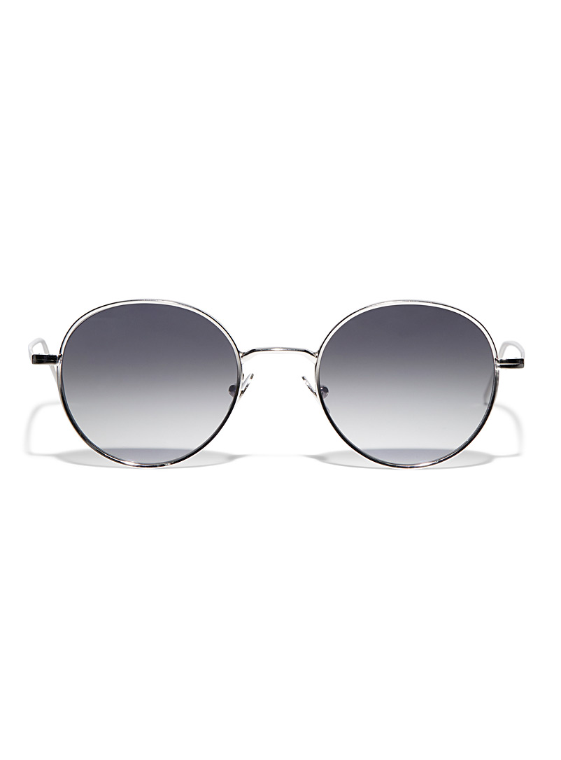 The Bespoke Dudes Silver Ulster sunglasses for men