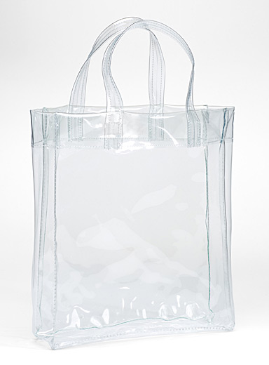 Colourful sheer tote