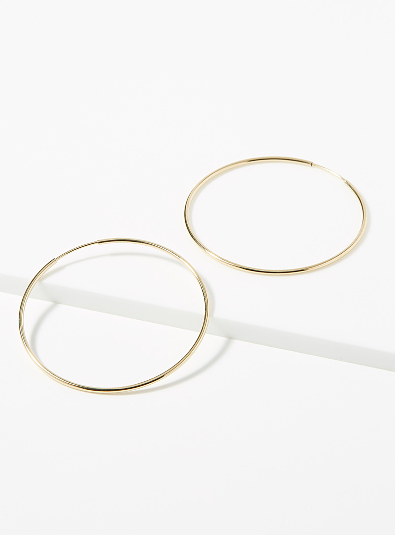 Hestia Assorted Gold hoops for women