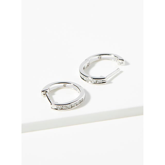 white-gold-and-diamond-hoops