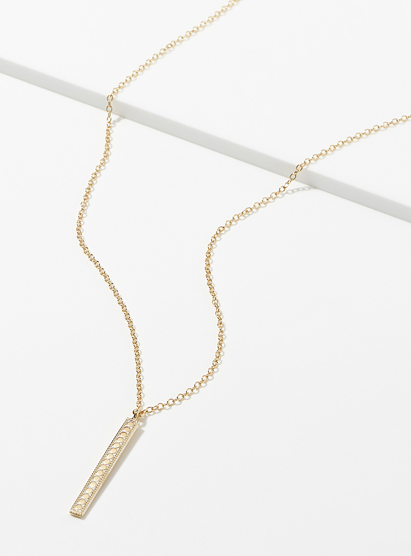 Slender pendant necklace - Accessories - Assorted