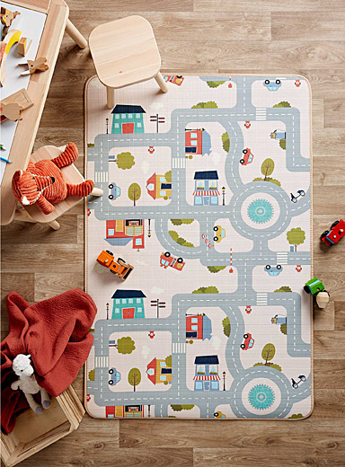 Curious baby reversible play mat
