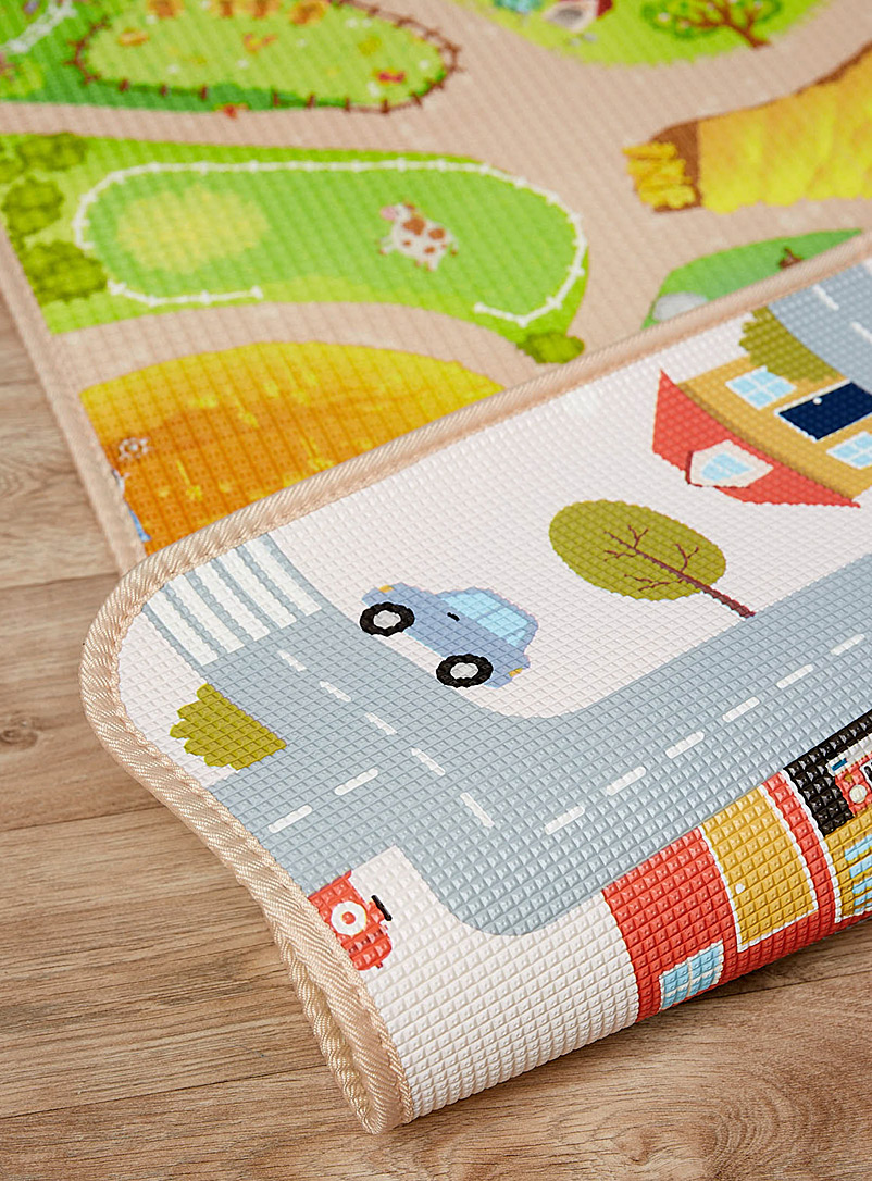 Simons Maison Cream Beige Curious baby reversible play mat