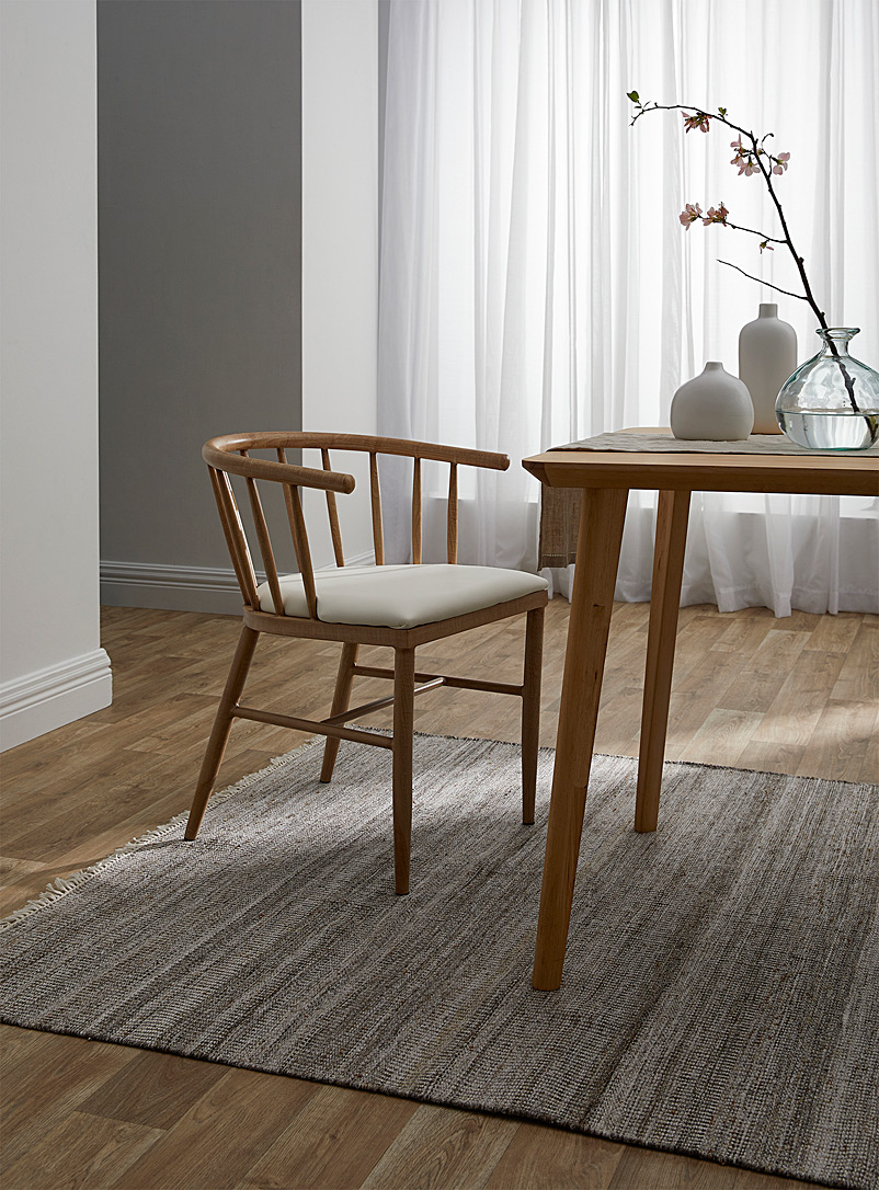 Simons Maison Brown Woven recycled polyester artisanal rug See available sizes
