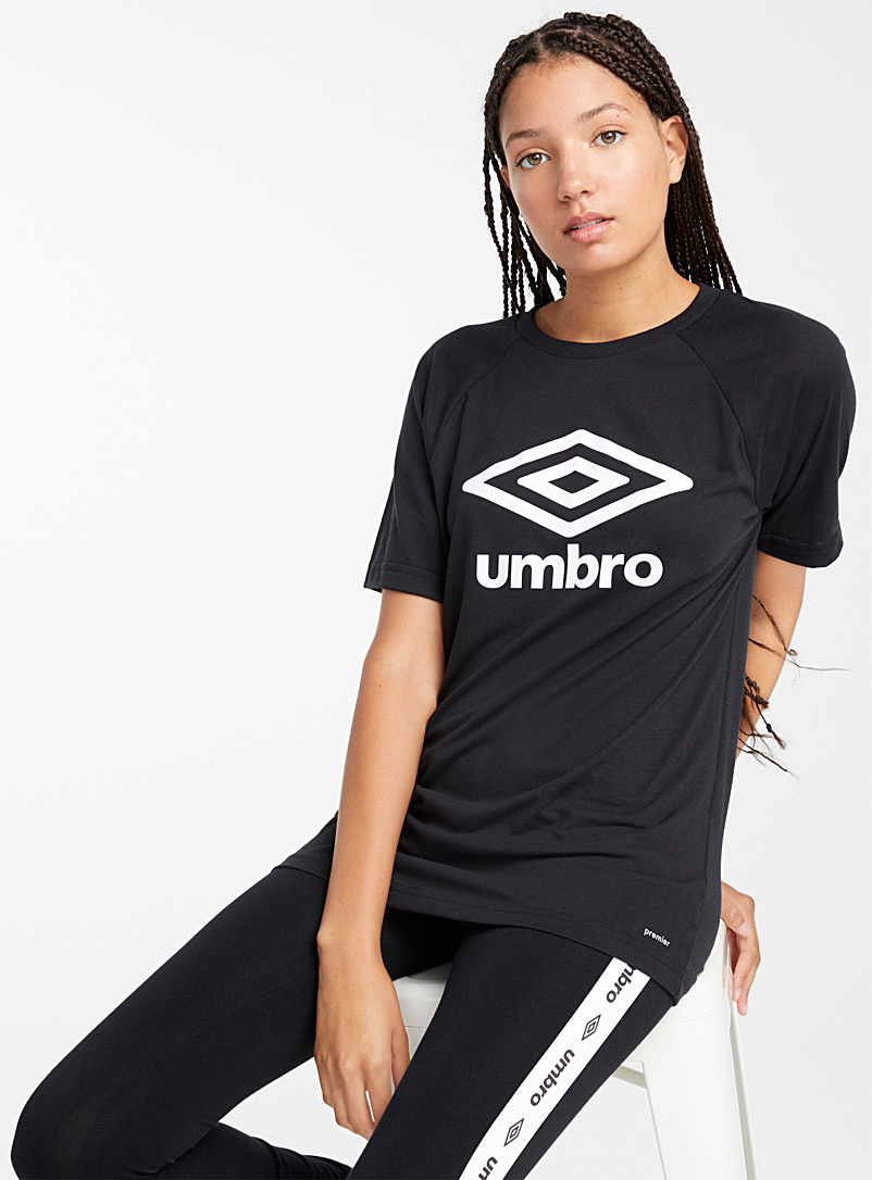 Double diamond tee - Short Sleeves & ¾ Sleeves - Black and White
