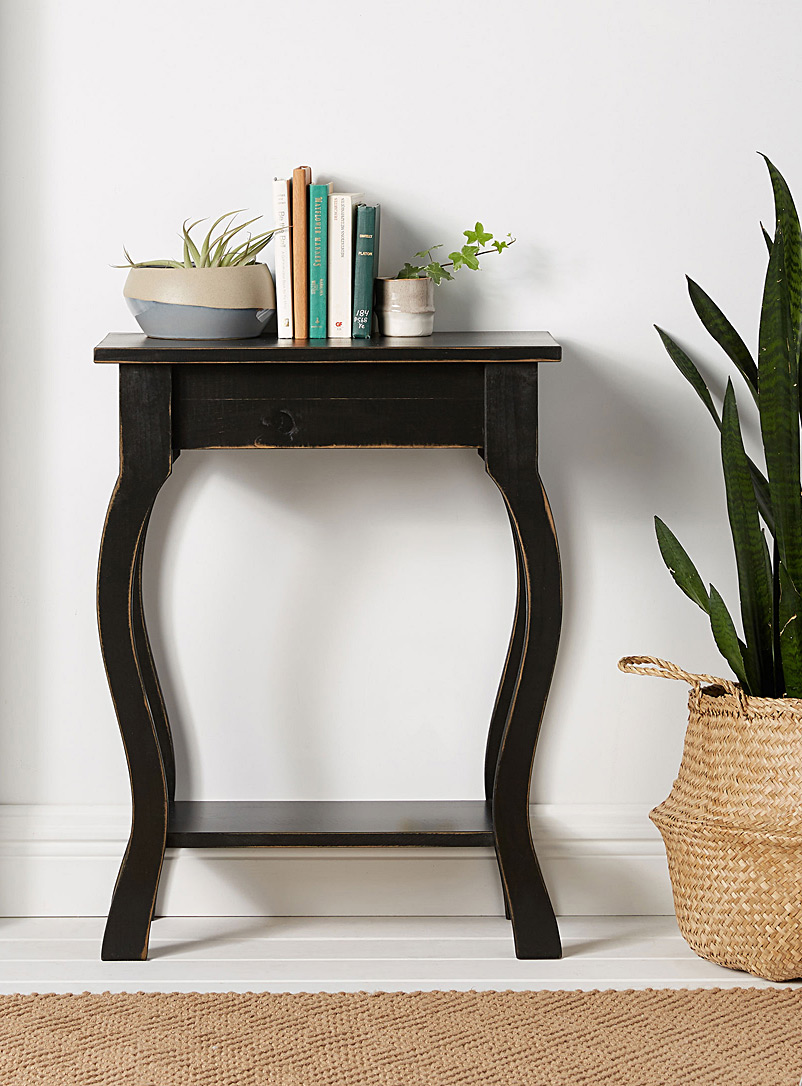 Springwater Woodcraft Black Vintage black occasional table