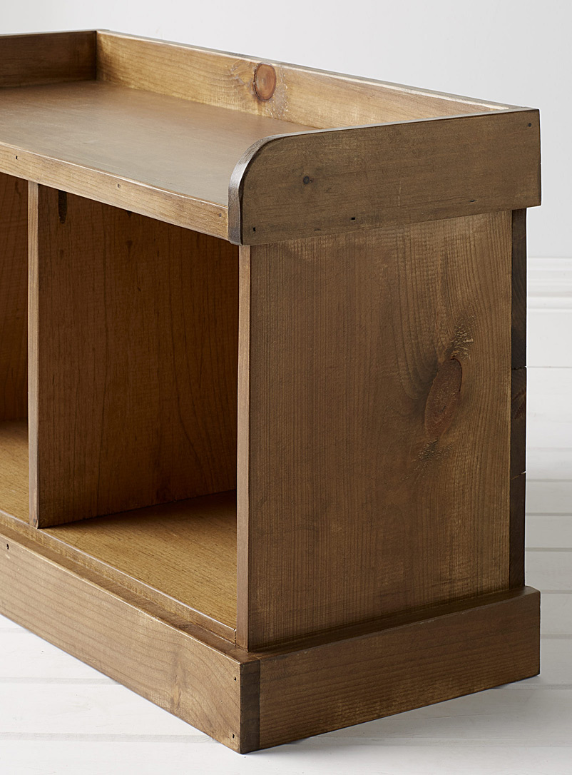 Springwater Woodcraft Assorted Rustic Cubby bench