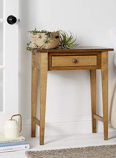 Rustic Hall accent table