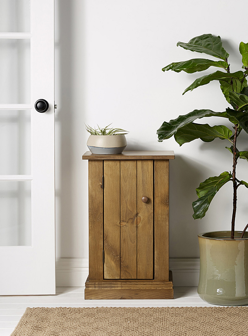 Rustic Haggerty accent table