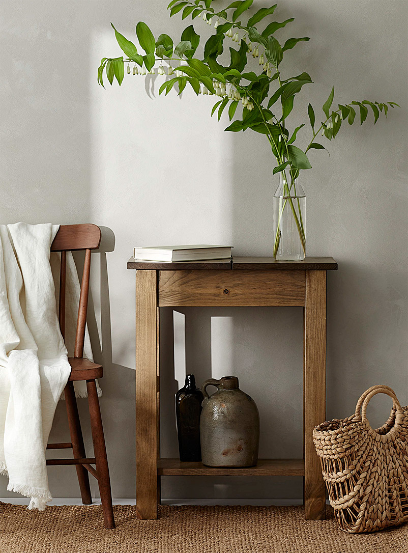 Springwater Woodcraft Assorted Flip top accent table
