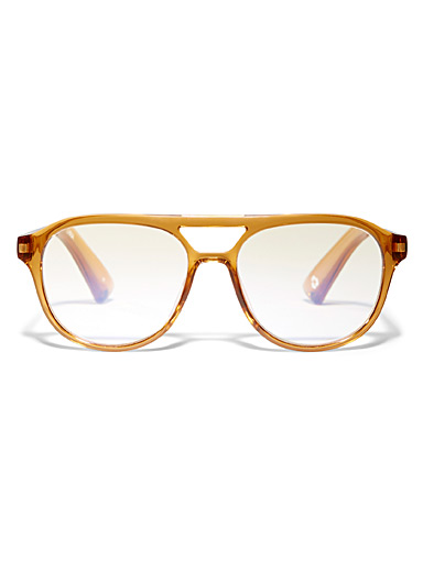 Dot a Freckle and Missed a Ride aviator reading glasses