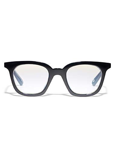 Snatcher in Black Tie square reading glasses