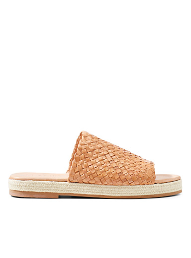 Tuscan Woven espadrille sandals
