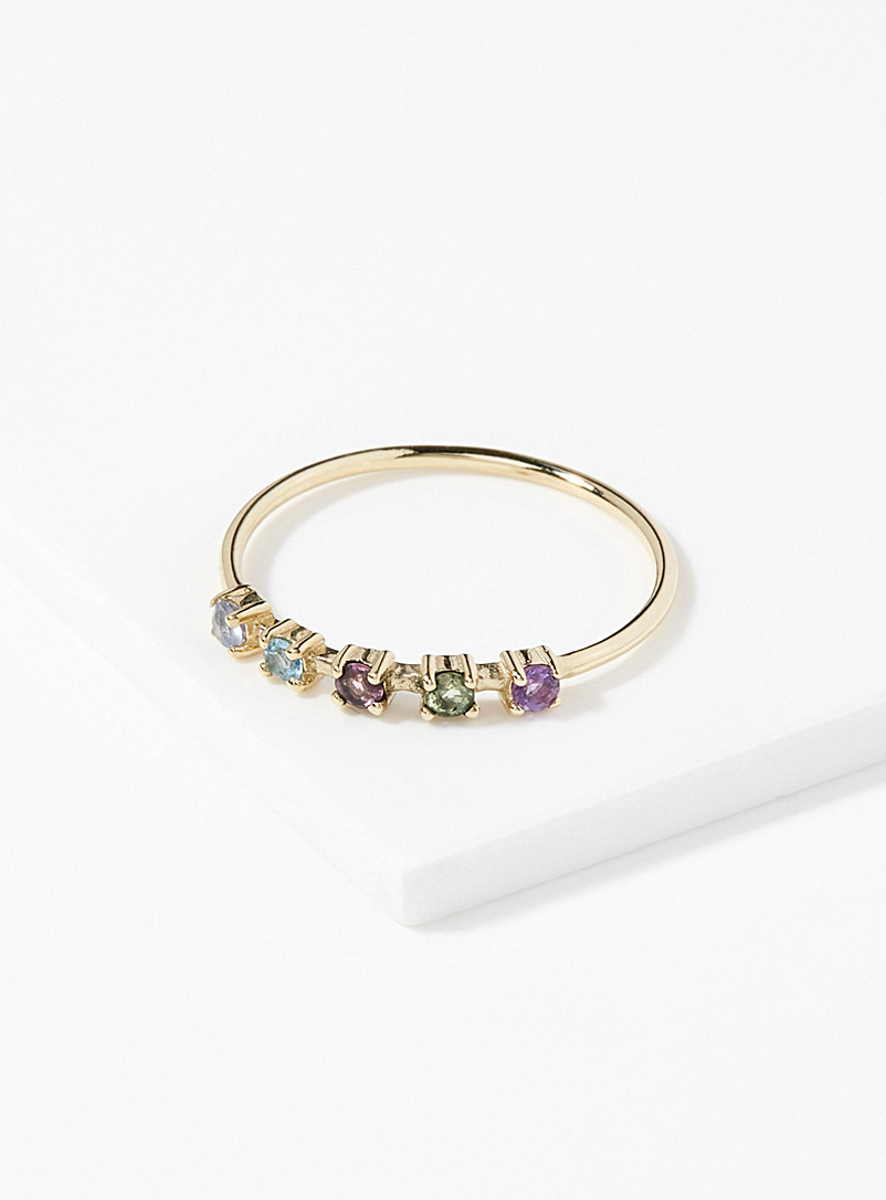 Chromatic harmony ring - Designer Jewellery - Assorted