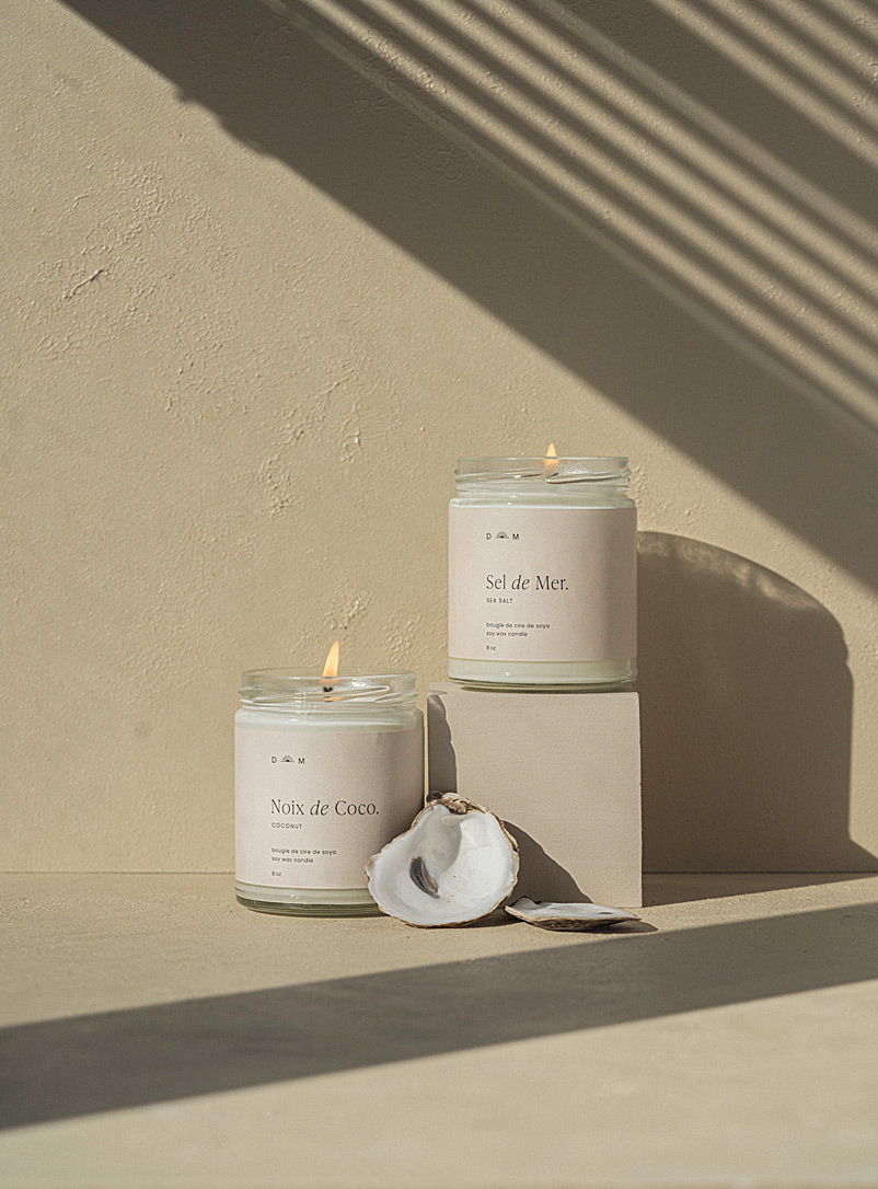 Dimanche matin White Sea candle set