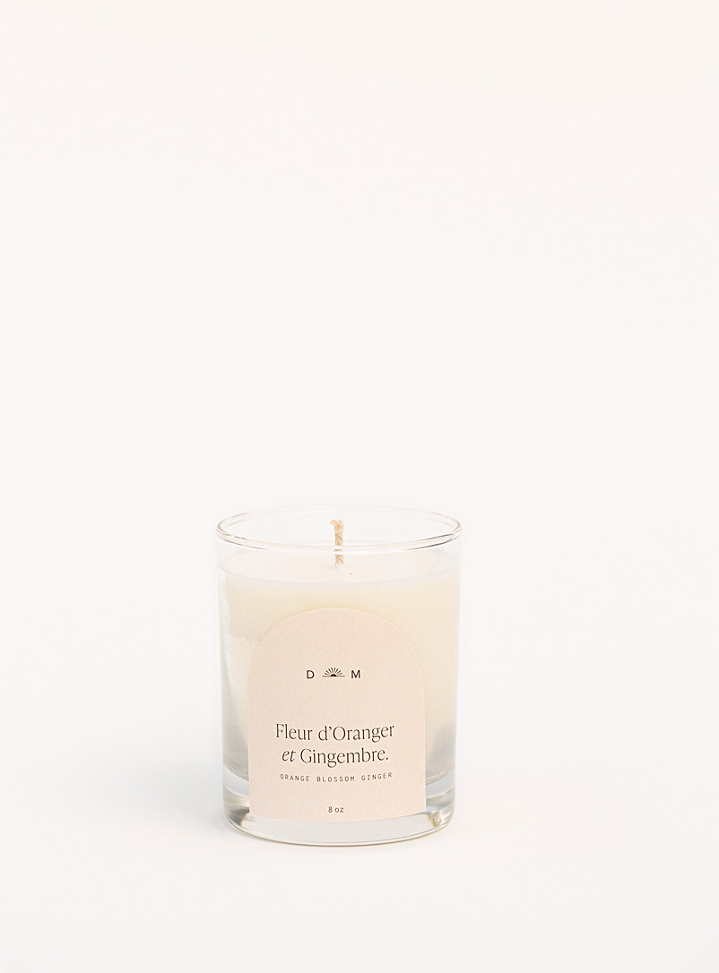 Dimanche matin White Orange flower and Ginger candle