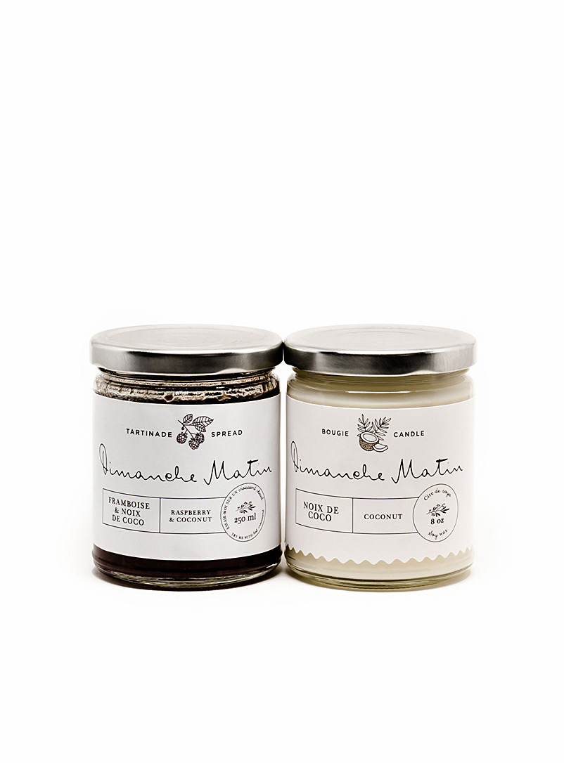 Coconut Love candle and spread set