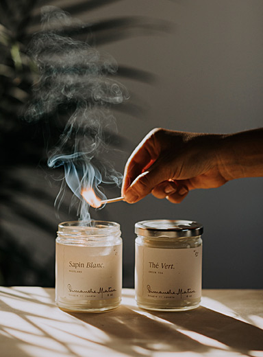 Montagne candle set