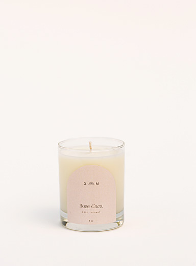 Rose & Coco candle