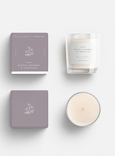 Fig, Bambou & Violets candle