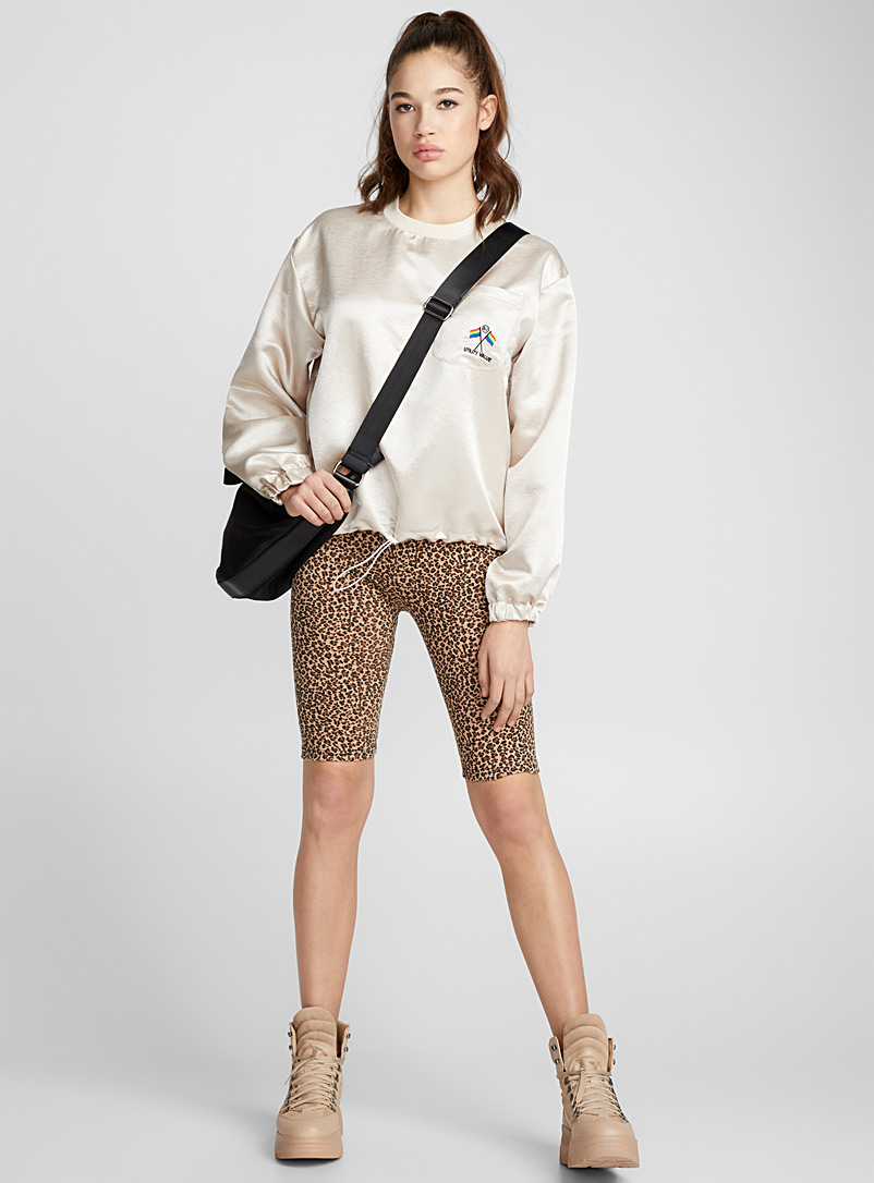 leopard-cycling-short