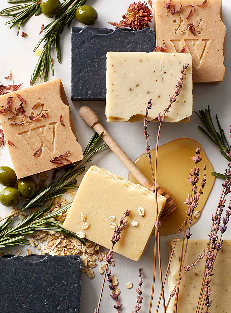 Les Savons Milca Golden Yellow Oats and honey soap