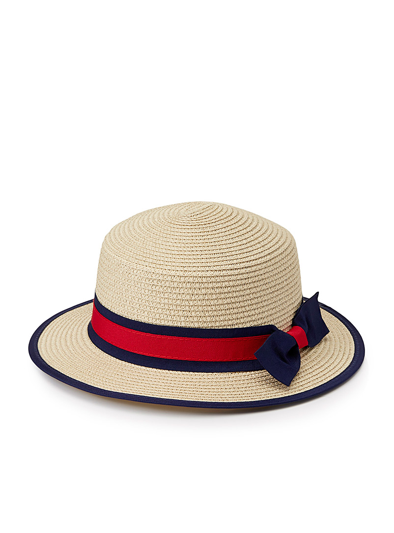 Classic boater - Hats - Cream Beige