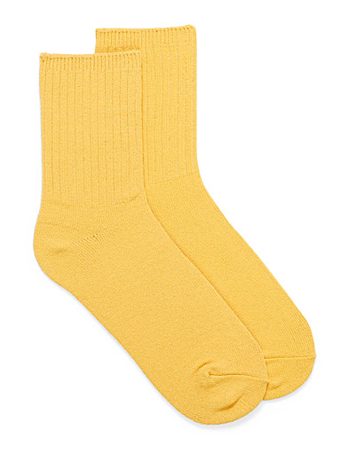 Exquisitely soft ankle socks