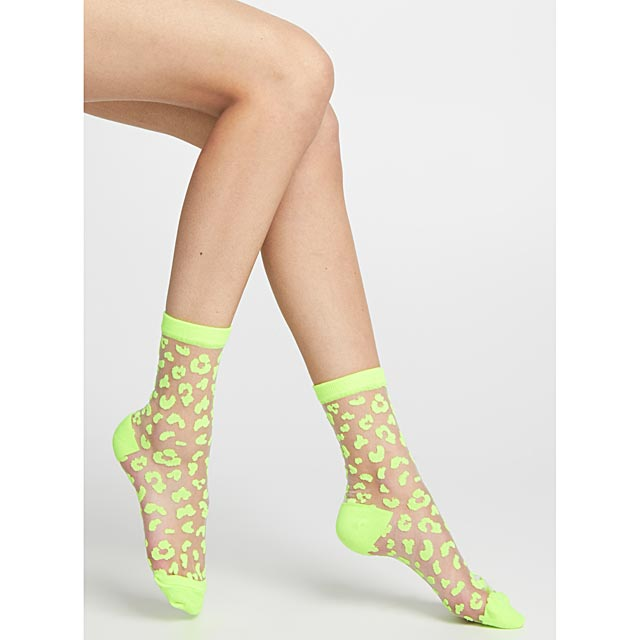 leopard-and-mesh-ankle-socks