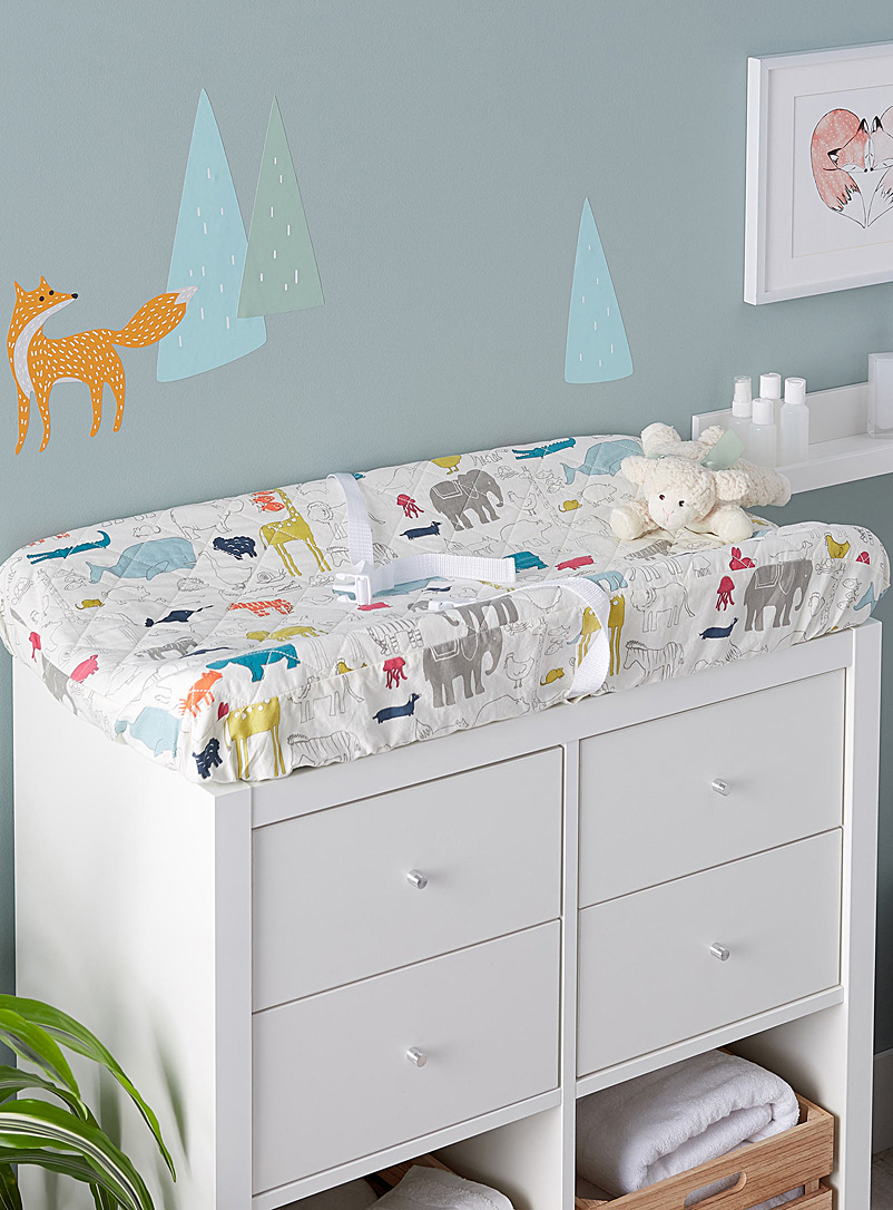 Noah's Ark changing pad cover - Bed Skirts & Shams - Assorted