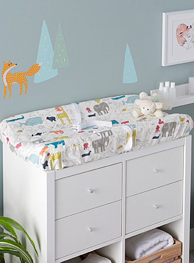 Noah's Ark changing pad cover