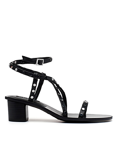 Lani crossed-strap sandals