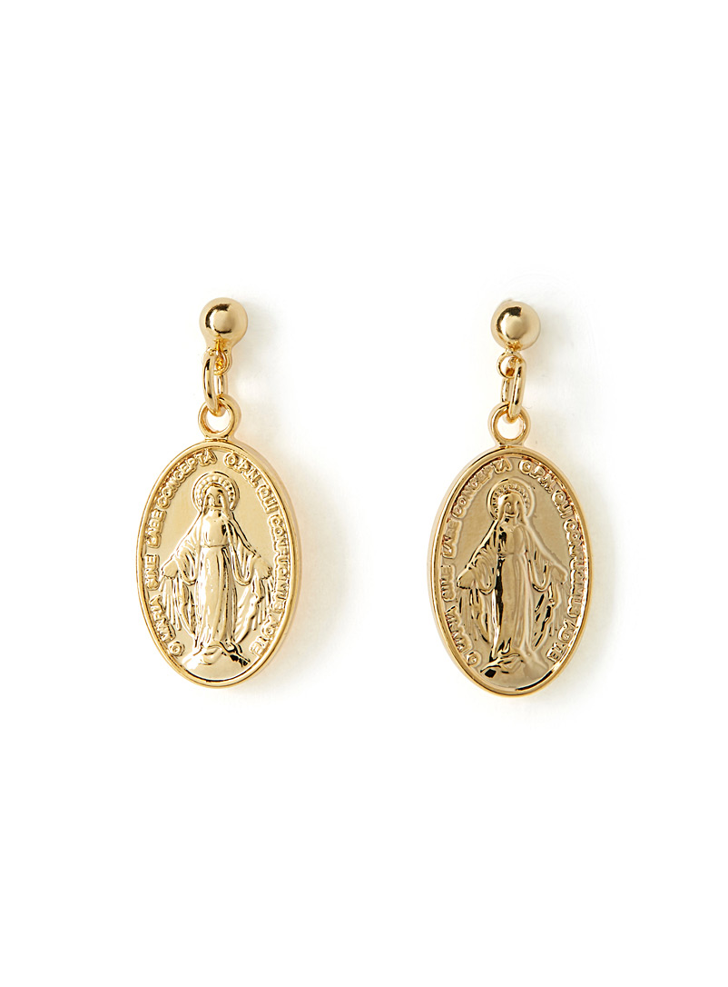 Religious icon earrings - Earrings - Assorted