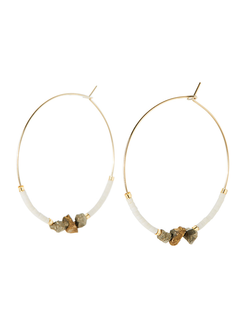 gold-speck-hoops