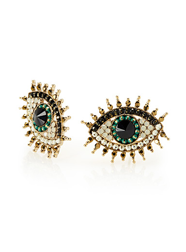 Mysterious eyes earrings