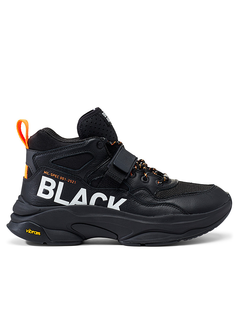 Brandblack Black Saga Mil-Spec sneakers for men