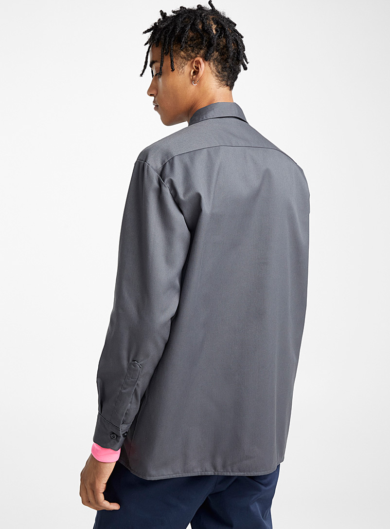 Worker shirt - Long sleeves - Grey
