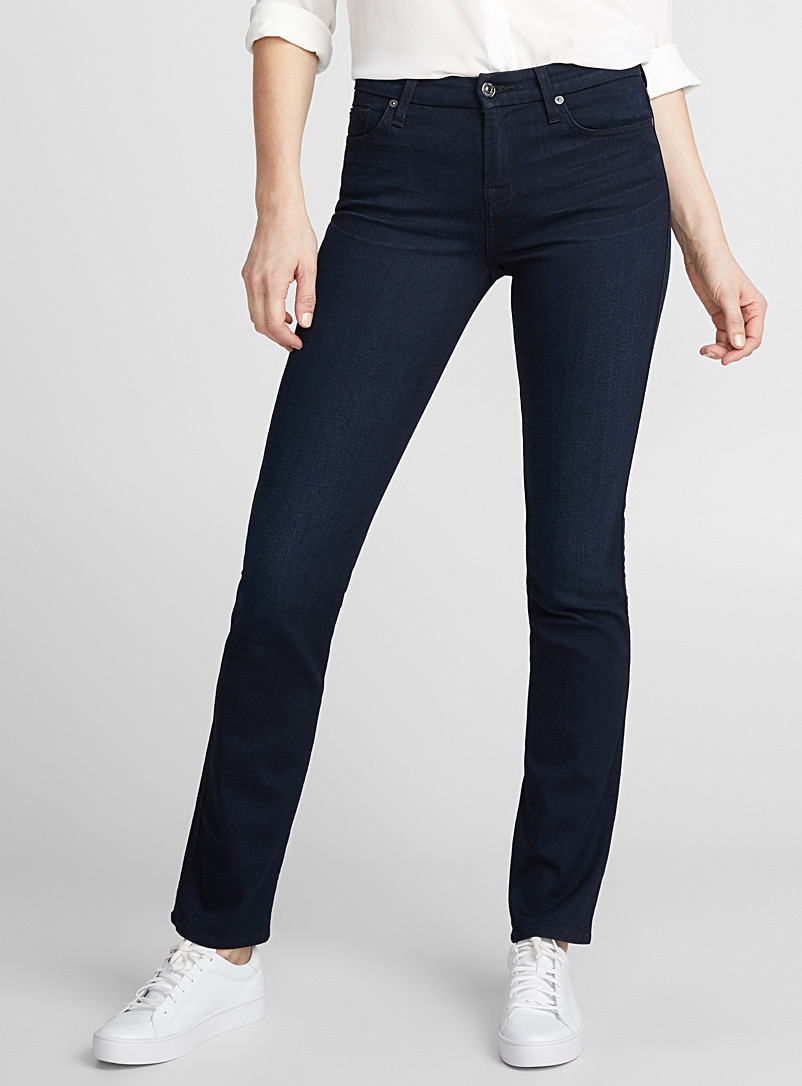 Kimmie straight slim jean - Regular Waist - Dark Blue