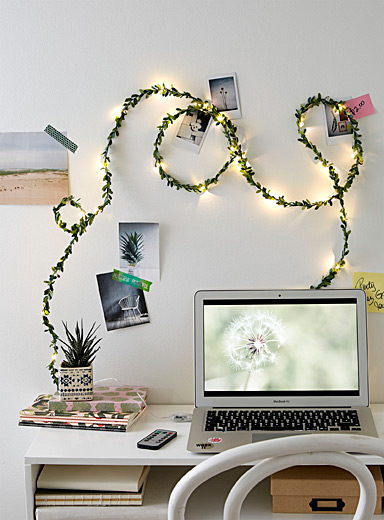 Foliage string lights