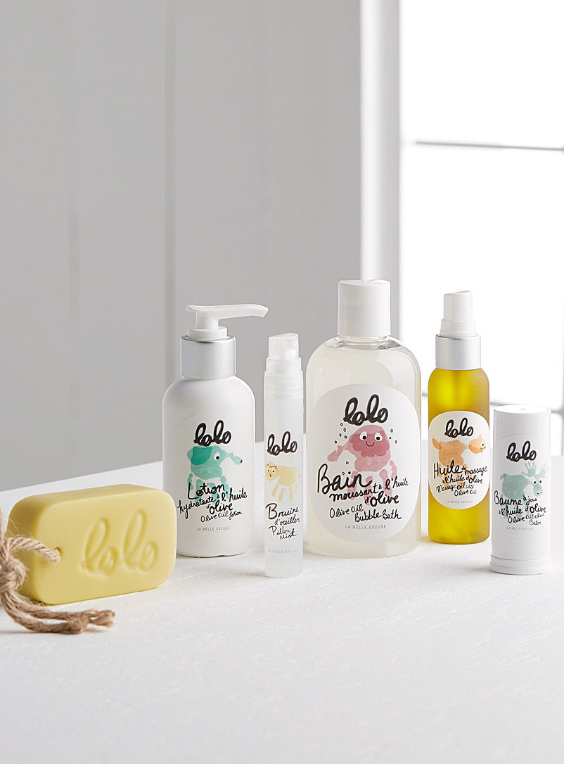 Lolo cocooning and winter pleasures body care set - LA BELLE EXCUSE - Assorted