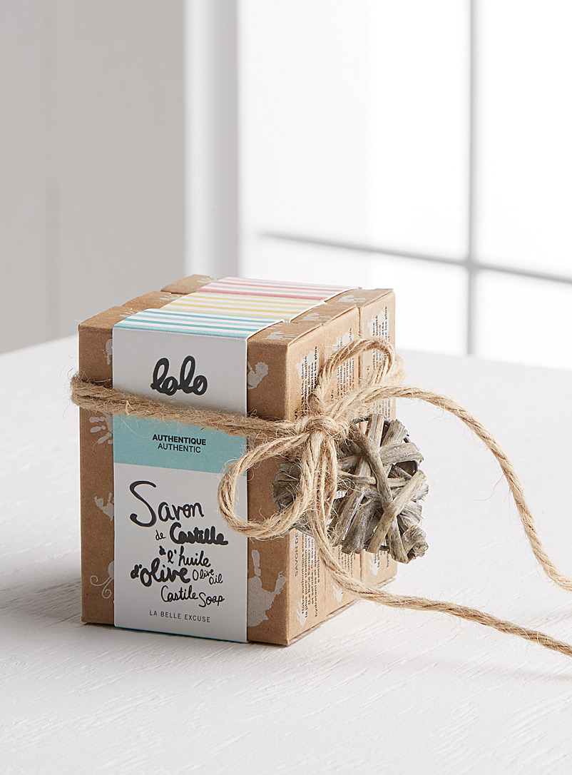 Lolo Castile soap three-pack - LA BELLE EXCUSE - Assorted