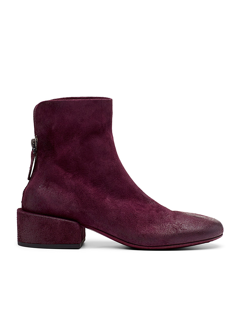 Buccia heeled boots - Marsèll - Purple