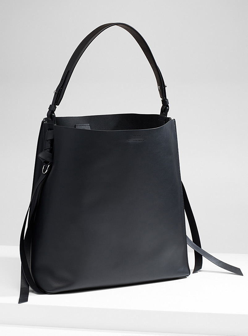 Voltaire tote and clutch - Designer Bags - Black