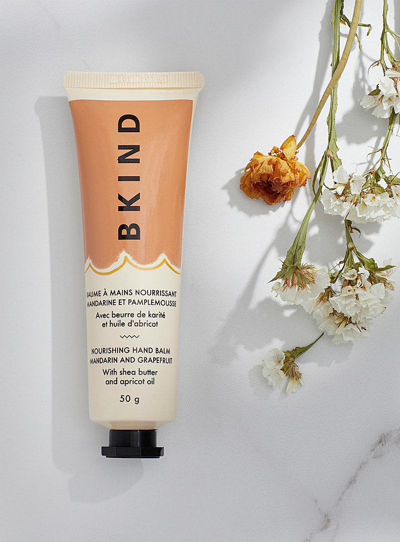 BKIND Light Orange Grapefruit and mandarin nourishing hand balm